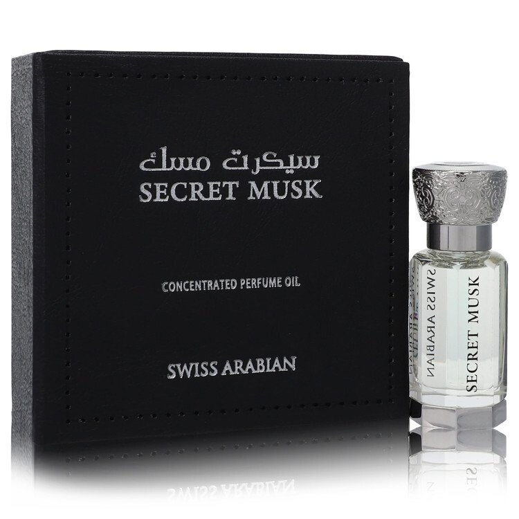 Swiss Arabian Secret Musk by Swiss Arabian Concentrated Perfume Oil (Unisex) .40 oz For Women (Up To 1 Oz.)