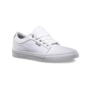 Vans CHUKKA LOW (Chambray) True White Skateboard Shoes