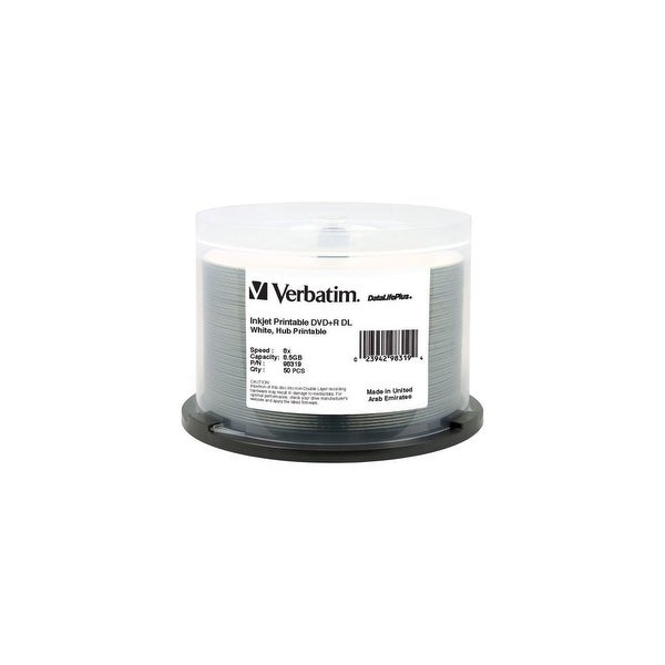 Verbatim 98319 DVD R Dual Layer Recordable Disc DVD+R Dual Layer Recordable Disc