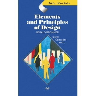 Crystal Productions Middle-High School Elements & Principles of Design DVD, 28 min