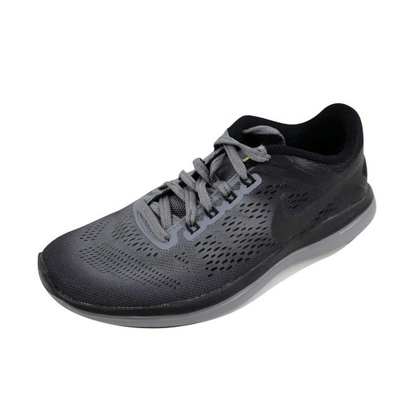 Shop Nike Women s Flex 2016 RN Shield Cool Grey Metallic Hematite ... 6948ca0db7a8d