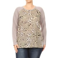 BNY Corner Women's Plus Size Top Tunic Blouse Tee Shirts 16018-2