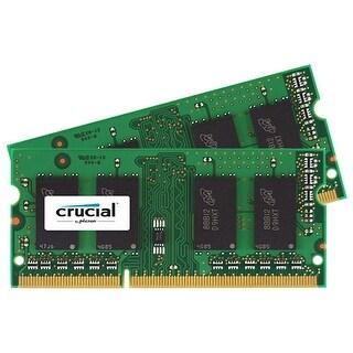 Crucial CT2KIT102464BF1M Crucial 16GB Kit (8GBx2) DDR3 1600 MT/s (PC3-12800) CL11 SODIMM 204-Pin 1.35V/1.5V Notebook Memory