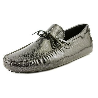 Tod's New Laccetto Occh. New Gommini 122 Square Toe Patent Leather Loafer