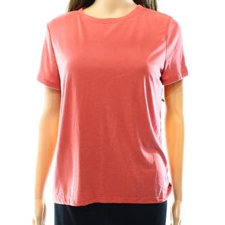 Free Press NEW Persimmon Pink Womens Size XS Solid Crewneck Tee T-Shirt|https://ak1.ostkcdn.com/images/products/is/images/direct/b0443453dabee0772fcb0a8dd187a7a00a8d67f0/Free-Press-NEW-Persimmon-Pink-Womens-Size-XS-Solid-Crewneck-Tee-T-Shirt.jpg?impolicy=medium