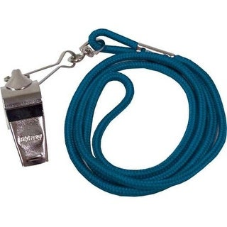 Olympia Sports TL089P Whistle-Lanyard Combo - Blue