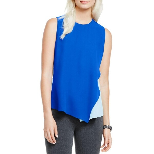 Vince Camuto Womens Pullover Top Sleeveless Lined