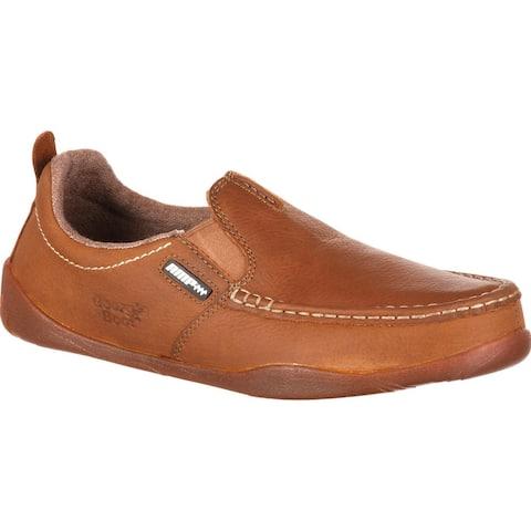 Georgia Cedar Falls Moc-Toe Slip-On Shoes - style #G050