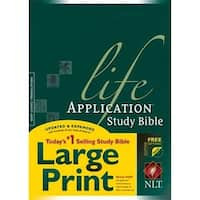 Nlt2 Life Application Study Bible Large Print Hc