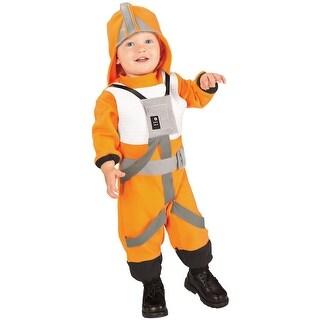 Rubies X-Wing Fighter Pilot Toddler Costume - Orange