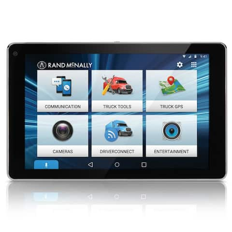 Rand McNally OverDryve 7 Pro with Inbuilt Dashcam, Bluetooth & SiriusXM Truck GPS Plus Tablet