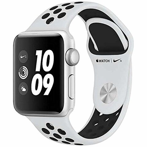 Apple Watch Nike+ Series 3 38mm GPS Smartwatch (Silver Aluminum Case/Nike Band)