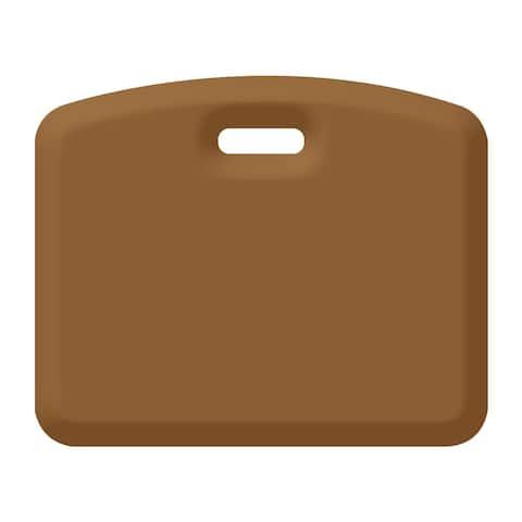 WellnessMats Anti-Fatigue Garage/Gardening Companion Mat, 18 Inch by 22 Inch, Tan