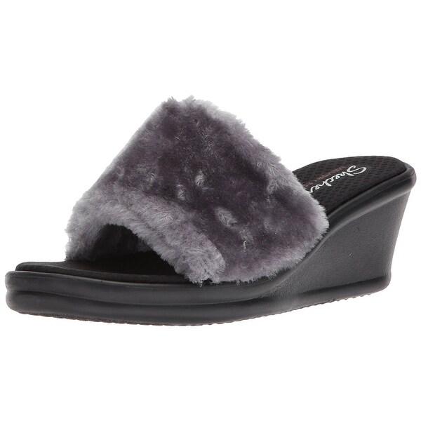 Skechers Women's Rumblers-Summer Peach Slide Sandal - 11