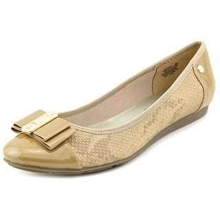 Anne Klein Sport Aricia Round Toe Synthetic Flats