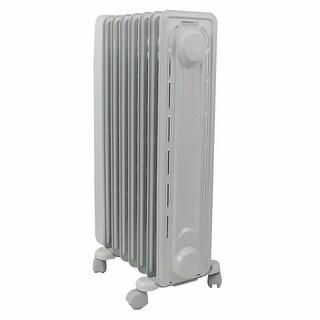 DeLonghi EW7707CM Electric Oil Filled Radiator Heater - beige