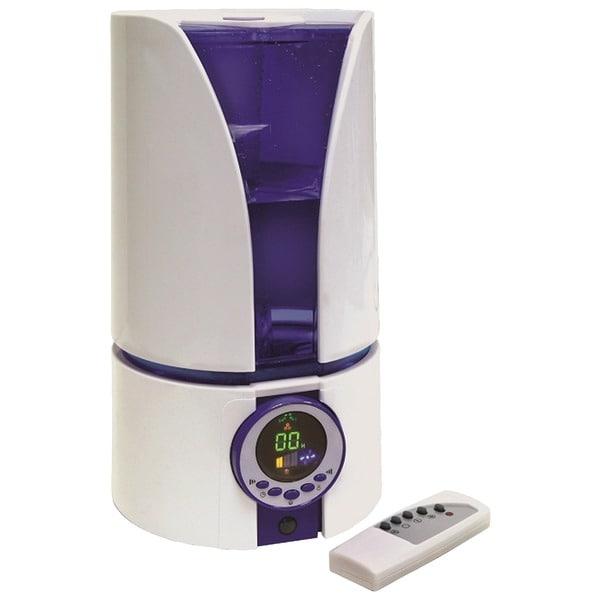 Comfort Zone Czhd81 1.1 Gallon Ultrasonic Cool Mist Humidifier