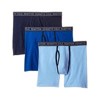 Kenneth Cole Reaction Mens Boxer Briefs 3 Pack Tagless