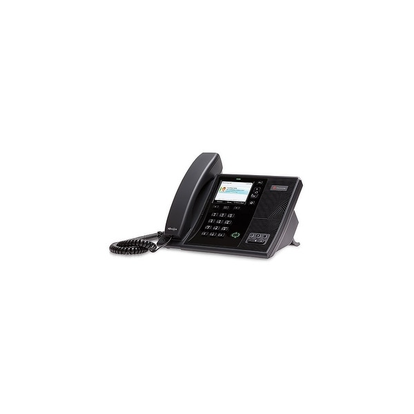 Polycom 220015987025 CX600 VoIP Corded Phone for Microsoft Lync With Packet Loss Concealment