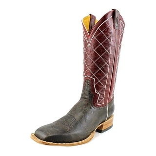 Rod Patrick RMP106 Men A Square Toe Leather Red Western Boot