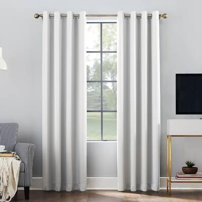 Sun Zero Oslo Total Blackout Grommet Curtain Panel, Single Panel