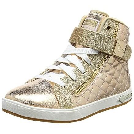 Skechers Kids Girl's Shoutouts 84308L (Little KidBig Kid) Gold Shoe