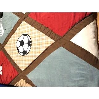 Sweet Jojo Designs Boys 'All Star' 3-piece Full/Queen Comforter Set