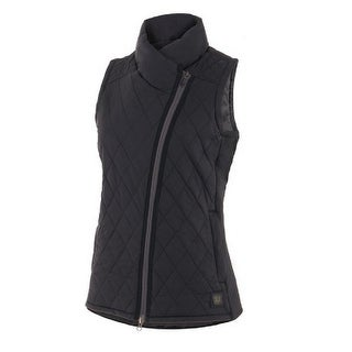Noble Outfitters Vest Women Outerwear Warmup Hand Warmer Quilted 28005