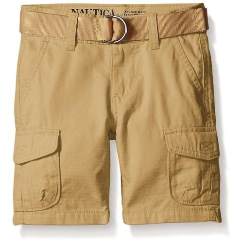 862263cbd Shop Nautica Boys 4-7 Belted Cargo Short - Free Shipping On Orders Over $45  - Overstock.com - 18768144