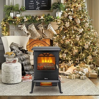 Link to 1500W Infrared Quartz Electric Stove Heater, 2 Heat Settings, Energy Saving Similar Items in Heaters, Fans & AC