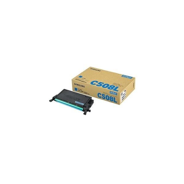 Samsung CLT-C508L High-Yield Cyan Toner Cartridge Toner Cartridge