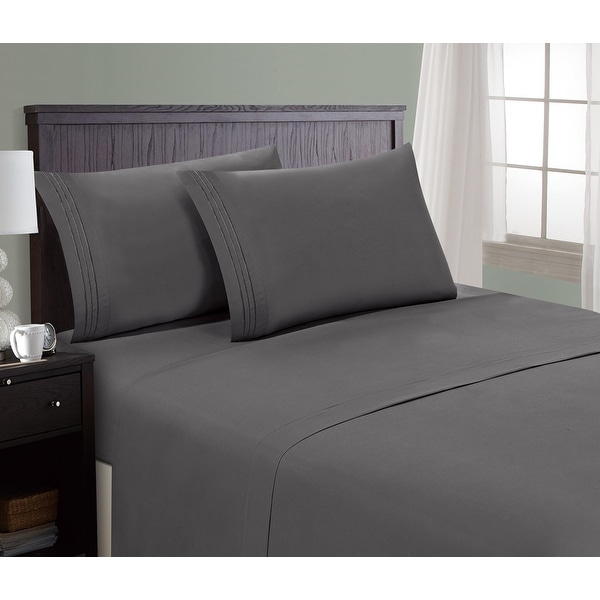 Hotel Luxury 1800 Series Platinum Collection, Deep Pockets, Wrinkle & Fade Resistant