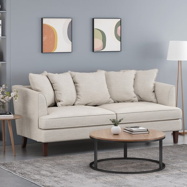Fairburn Indoor Pillow Back 3 Seater Sofa by Christopher Knight Home. Opens flyout.