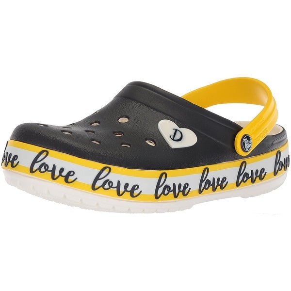 f3ba9383e8b5 Shop Crocs Womens Drew Barrymore Crocband Rubber Closed Toe Clogs ...