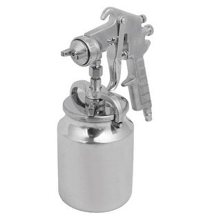 PQ-2 2mm Nozzle Spray Gun Sprayer Paint Tool Silver Tone