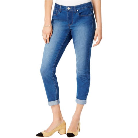 Maison Jules Womens 5 Pocket Boyfriend Fit Jeans