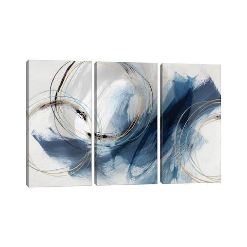 """iCanvas """"Detour """" by Isabelle Z 3-Piece Canvas Wall Art Set"""