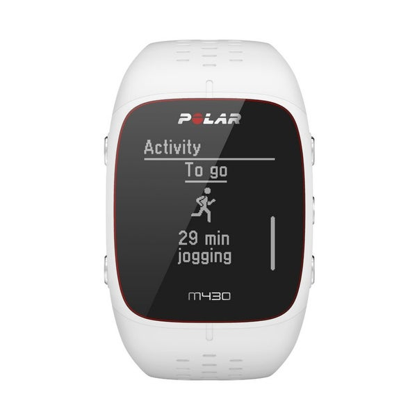 c63afc8ee7fbda Polar M430 GPS Running White Waterproof Watch with Wrist-Based Heart Rate  Smart Notifications