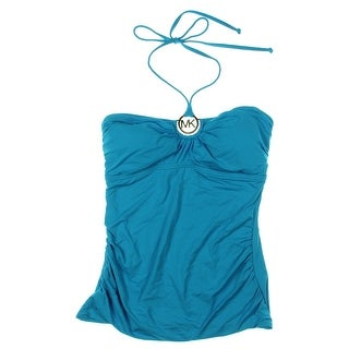 MICHAEL Michael Kors Womens Halter Tankini Swim Top Separates