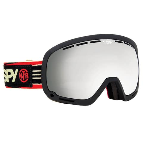 Spy Optic 313013191375 Marshall Snow Ski Goggles Non Toxic Rev Silver Mirror - Non Toxic Revolution - One Size