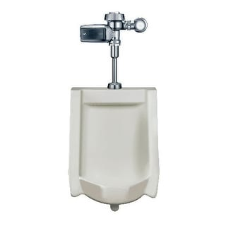 Sloan WEUS-1000.1403 High Efficiency Urinal features a battery-battery powered, - White