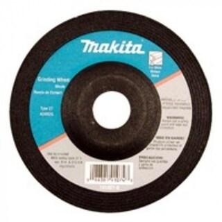 """Makita 7414052P Grinding Wheel, 4"""", Aluminum"""