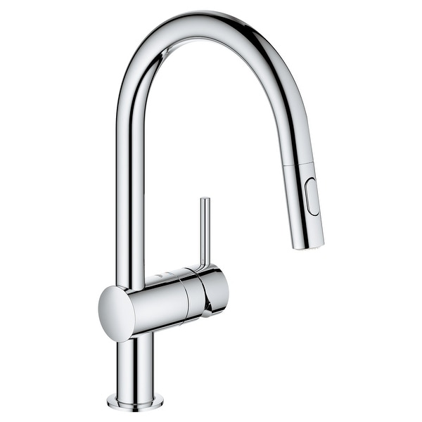 Grohe 31 378 3 Minta 1.75 GPM Single Hole Pull Down Kitchen Faucet