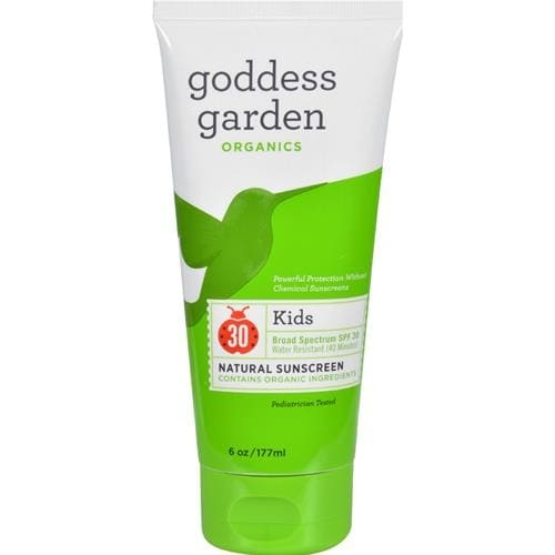 Goddess Garden - Organic Sunscreen Kids Natural Spf 30 Lotion ( 1 - 6 FZ)