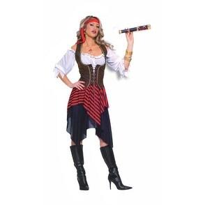 Sexy Sweet Buccaneer Adult Womens Halloween Costume - standard (6-14)