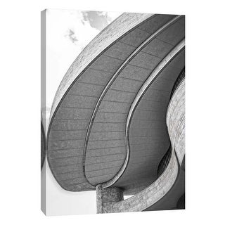 """PTM Images 9-105990  PTM Canvas Collection 10"""" x 8"""" - """"Museum of the American Indian Exterior 1"""" Giclee Buildings and Landmarks"""