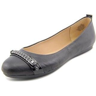 Easy Spirit e360 Giovanna Women W Round Toe Leather Flats