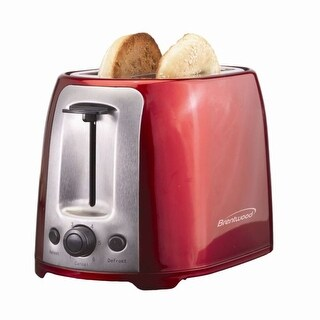Brentwood TS292R 2 Slice Cool Touch Toaster Red And Stain