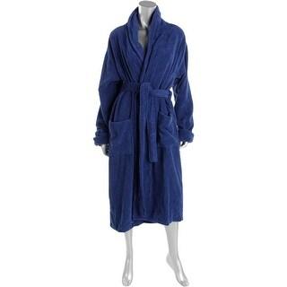 Alexander Del Rossa Womens Long Robe Terry Cloth Cuffed - S/M