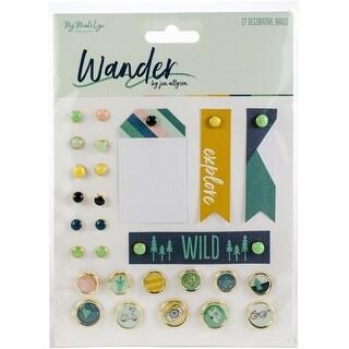 Wander Decorative Brads 24/Pkg-